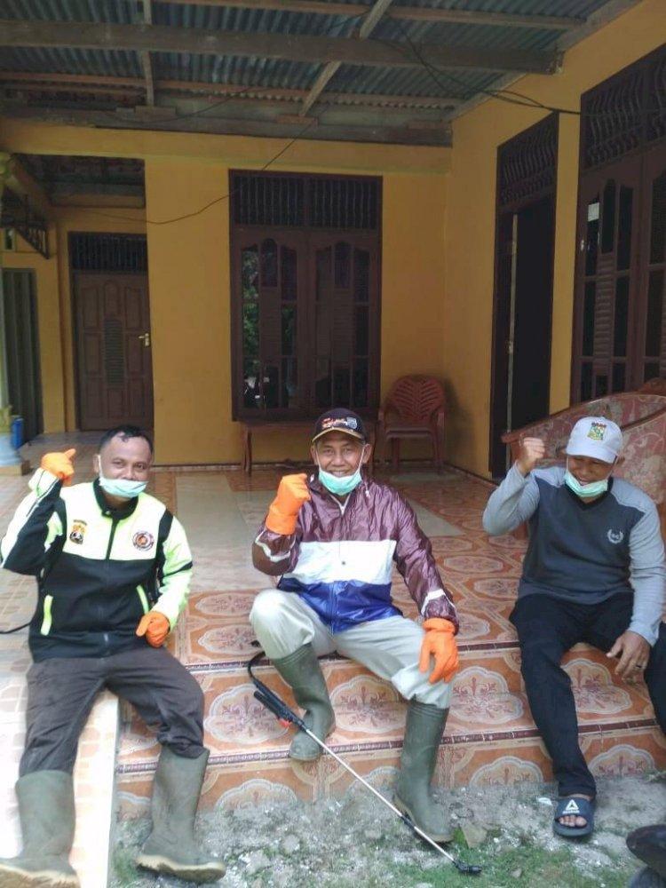 SENKOM MP Kecamatan Tapung Kabupaten Kampar Siap Bendung Virus Yang Mulai Mengepung