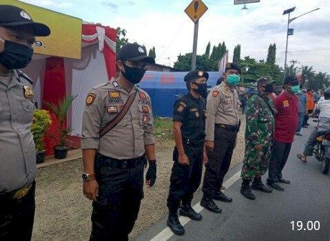 Bupati Rohil Kunjungi Pos PAM Simpang Martabak