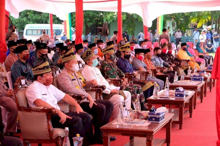 Polda Riau Gelar Bakti Sosial Serentak Bersempena Hari Bhayangkara Ke 74 di pusatkan di siak