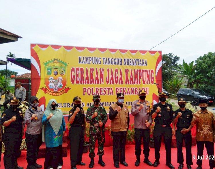 Senkom MP Dukung Kelurahan Agrowisata Sebagai Kampung Tangguh Nusantara