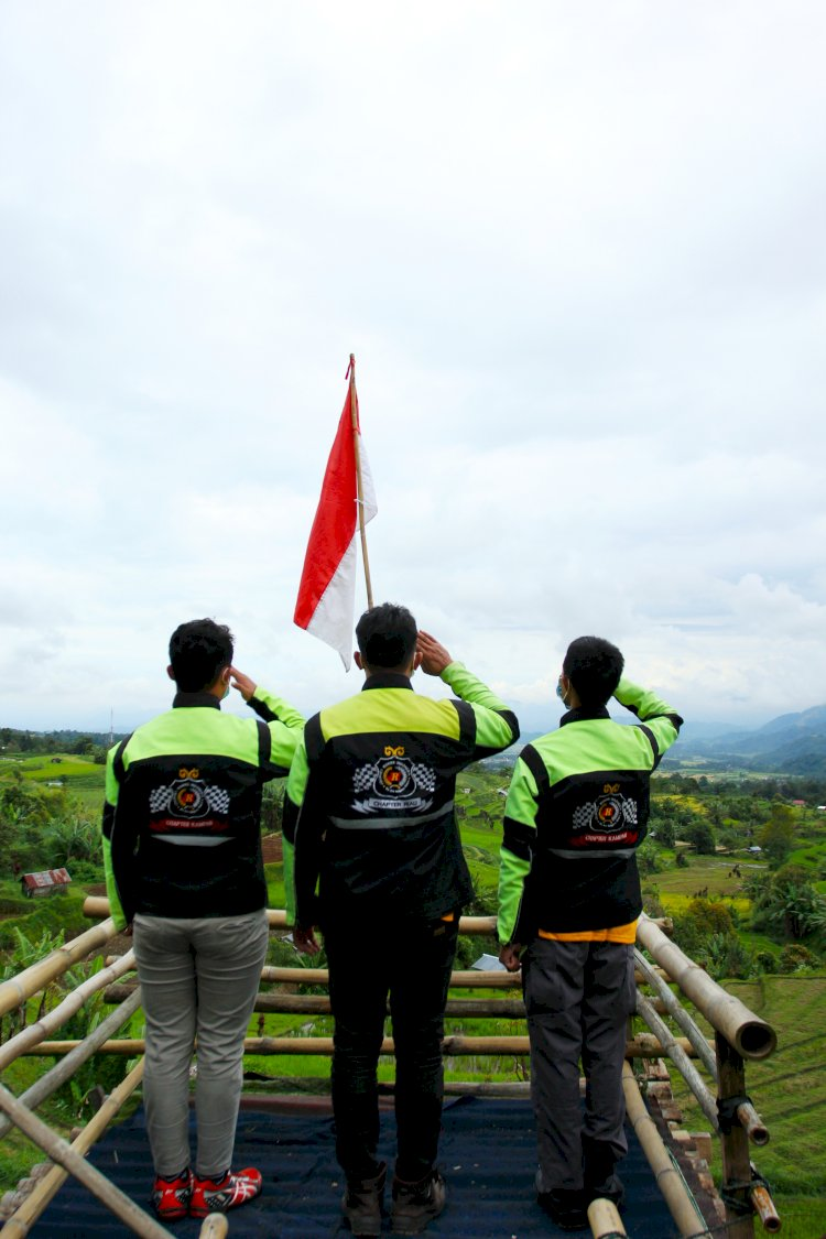 JRI Riau Peringati HUT RI Ke 75 Di Desa Terindah