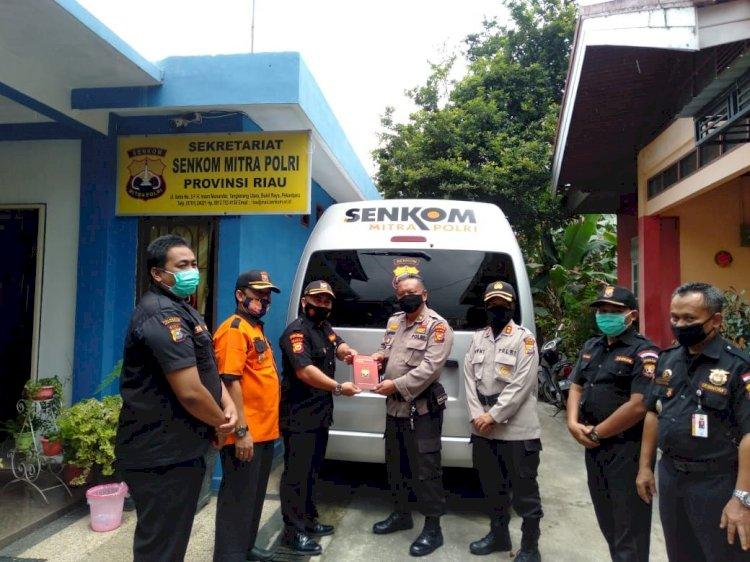 Dit Binmas Polda Riau Kunjungi Kantor Sekretariat Dan Sampaikan Pesan Lewat Tekhnologi SDC