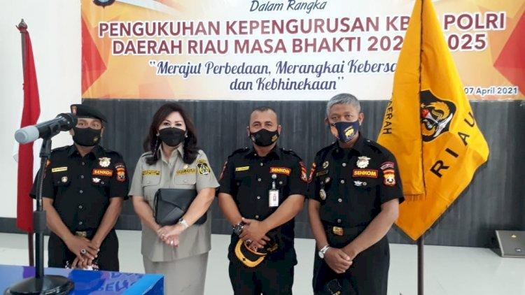 Wakil Ketua Senkom MP Provinsi Riau Ucapkan Selamat Kepada Ketua KBPP Polri Daerah Riau